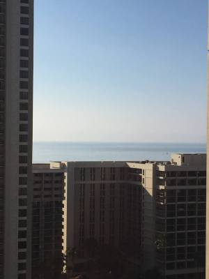 (Sliver of ocean view)